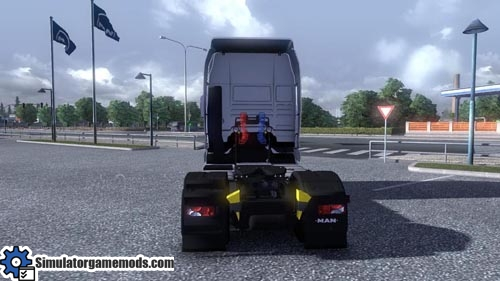 MAN TGX Euro Truck Simulator 2 mods