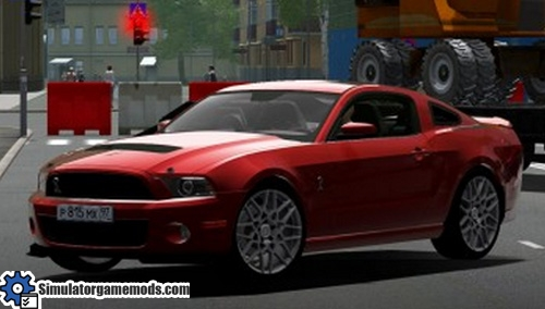 City Car Driving 1 4 Ford Mustang 2013 Car Download