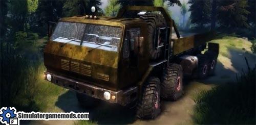 kraz-7e6316-truck