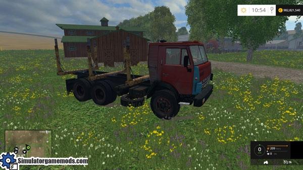 kamaz-forestry-truck