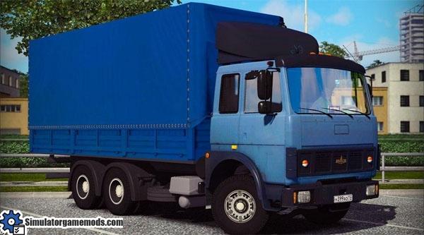 maz-5432-truck