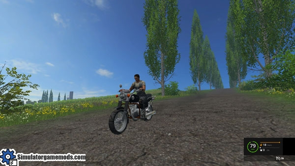 Fs 2015 Voshod 3m Color Motorcycle Mod Simulator Games
