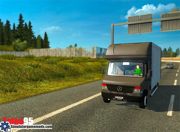 ETS 2 - Mercedes-Benz Vario Cargo All Traffic Mod | Simulator Games