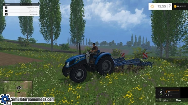 New Holland Tractor 01