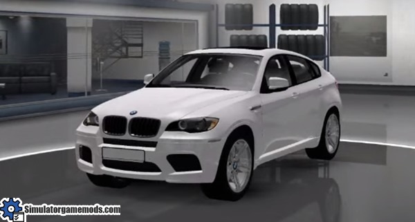 Ets 2 Bmw X6 Car Mod Simulator Games Mods Download