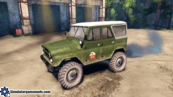 uaz-based-truck-mod