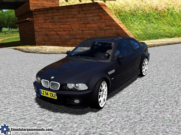 City Car Driving 1 4 1 Bmw M3 E 46 Car Download Simulator Games
