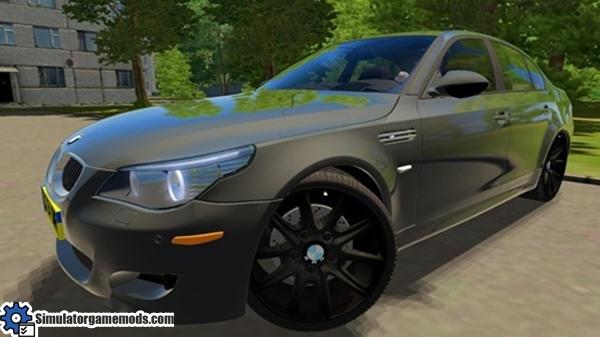 City Car Driving 1 4 1 Bmw M5 E60 Car Download Simulator Games