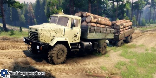 kraz-5133-truck