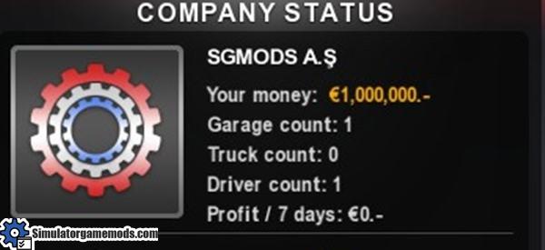 start-money-1M-economy-mod