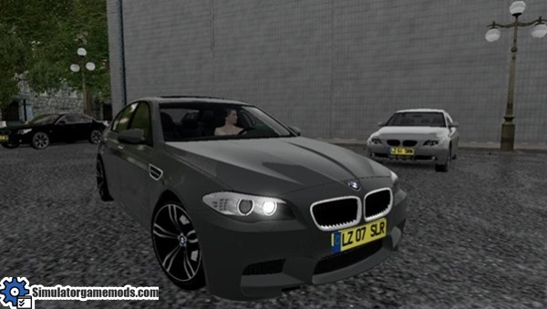 City Car Driving 1 4 1 Bmw F10 M5 Car Download