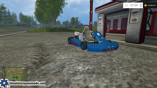 FS 2015 - Gokart Funny Mod | Simulator Games Mods Download
