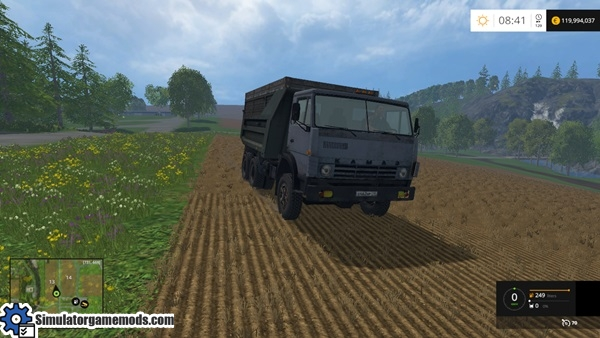 kamaz-55111-truck