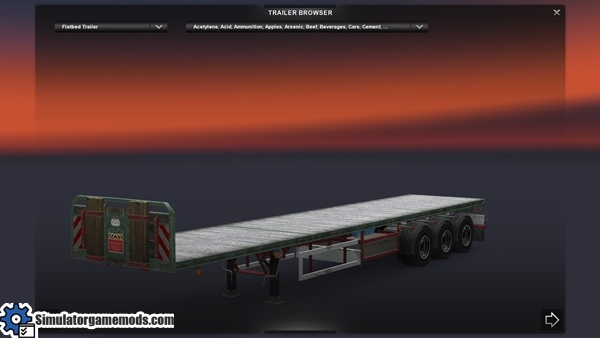 Empty-Flatbed-With-Double-Wheel-3