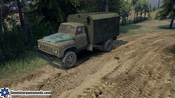 gaz-52-truck