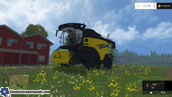 new_holland_cr_90_75_yellow_bull_combine_1