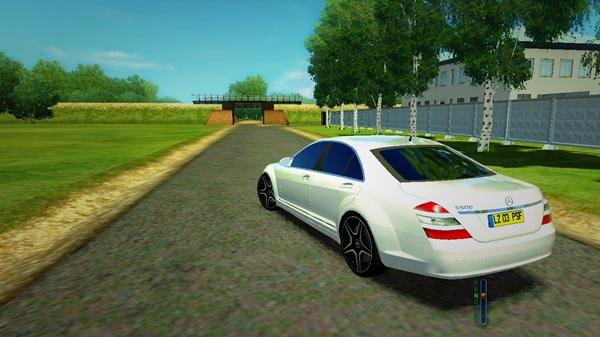 Mercedes benz s500 w221 city car driving 1 2 2 for Mercedes benz car racing games