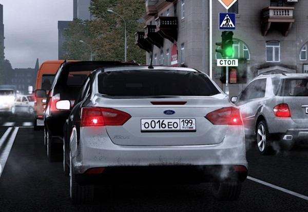 Ford Focus Mk3 Sedan City Car Mod 2