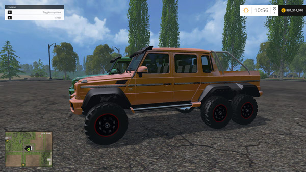 Mercedes 6X6 For Sale >> FS2015 - Mercedes Benz G65 AMG 6x6 | Simulator Games Mods ...