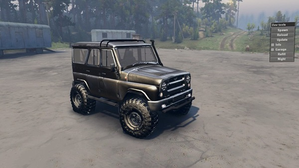 uaz_hunter_car_mod