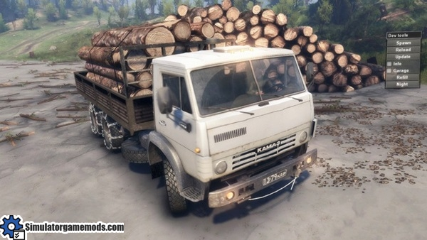 kamaz_55102_truck