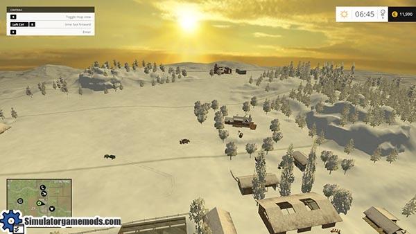 bjornholm-snow-map