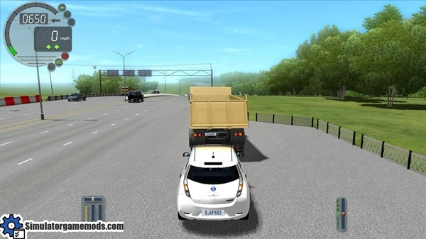 nissan leaf city car driving 1 5 0 simulator games. Black Bedroom Furniture Sets. Home Design Ideas
