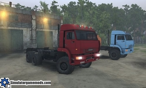 kamaz-52114-truck