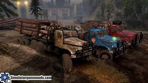 kraz-255-truck