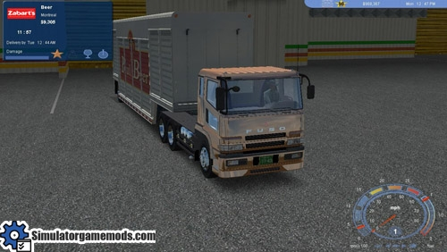 18WosPTTM - Mitsubishi Fuso 6x4 | Simulator Games Mods Download