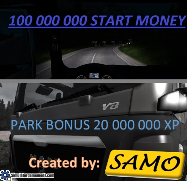 start-money-and-xp-park-mod