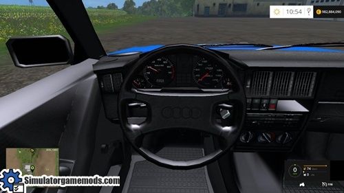 Fs 2015 Audi 80 B3 Blue Car Simulator Games Mods Download