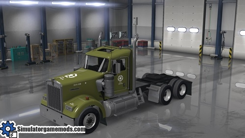 kenworth-w900-truck-us-army-skin