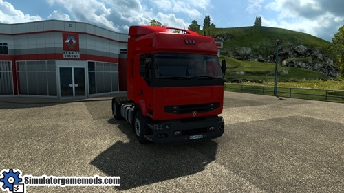 ets 2 renault premium truck simulator games mods download. Black Bedroom Furniture Sets. Home Design Ideas