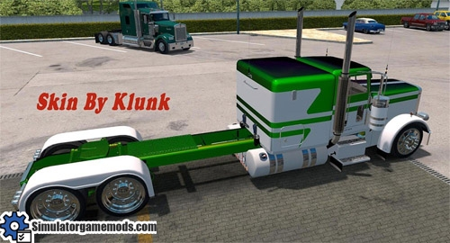 peterbilt_389_truck_white_metallic_skin