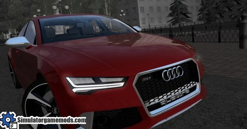 Audi RS7 - City Car Driving 1 5 0 | Simulator Games Mods