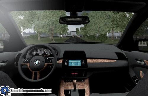 BMW X5 E53  City Car Driving 151  Simulator Games Mods Download