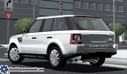 City Car Driving Range Rover Games