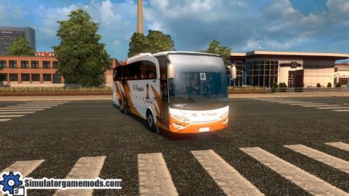 ETS 2 - Mercedes-Benz Jetbus Bus Mod | Simulator Games Mods