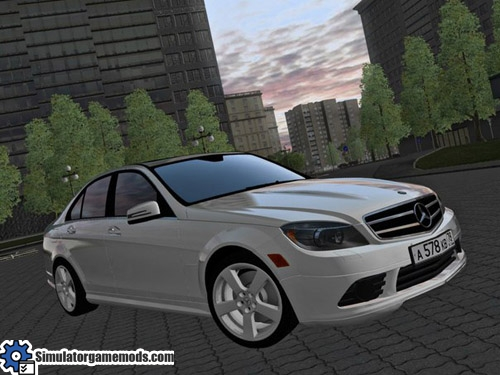 city car driving 1.5.1 – mercedes-benz c180 w204 car mod