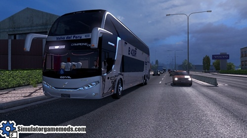 ETS 2 - Comil Campione DD Bus Mod | Simulator Games Mods Download