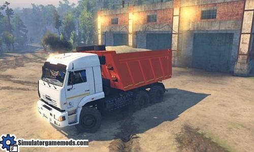 kamaz_65111_truck