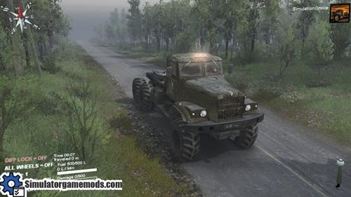 kraz_255_truck