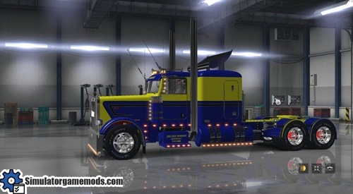 peterbilt_389_blue_yellow_stripe_skin_sgmods