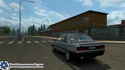 ets 2 renault 9 broadway car mod simulator games mods download. Black Bedroom Furniture Sets. Home Design Ideas