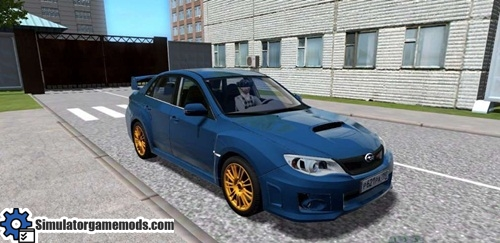 Subaru Wrx Mods >> City Car Driving 1 5 1 Subaru Impreza Wrx Sti 2011 Model