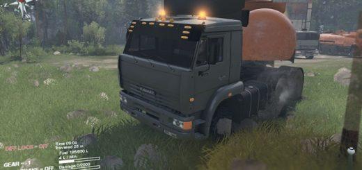 kamaz_6460_truck