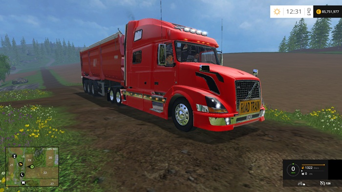 FS 2015 – Volvo VNL 780 Truck – Simulator Games Mods Download