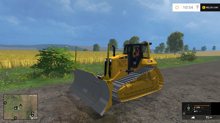 Fs 2015 Cat D6n Lgp V1 Simulator Games Mods Download