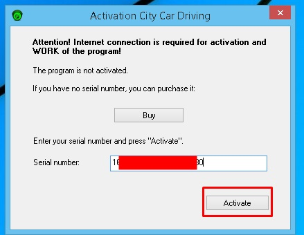 City Car Driving Serial